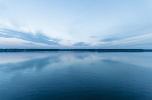 Image of a calm lake