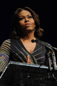 First Lady Michelle Obama speaks at the launch of the Campaign to Change Direction, March 4 in Washington, D.C.