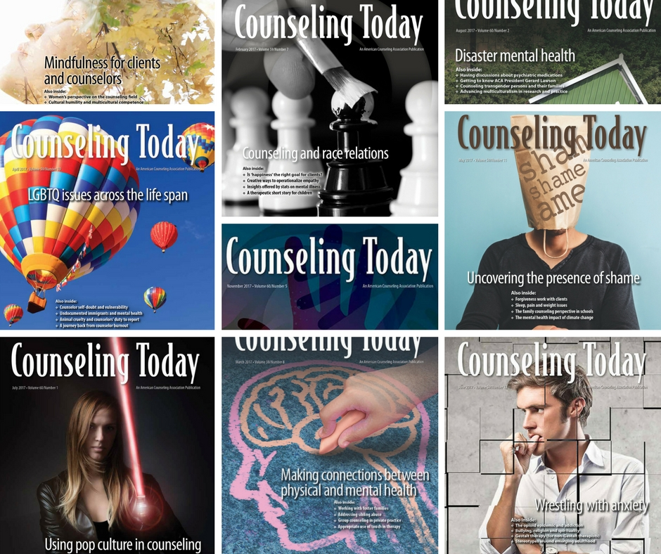 2017's most-read articles - Counseling Today