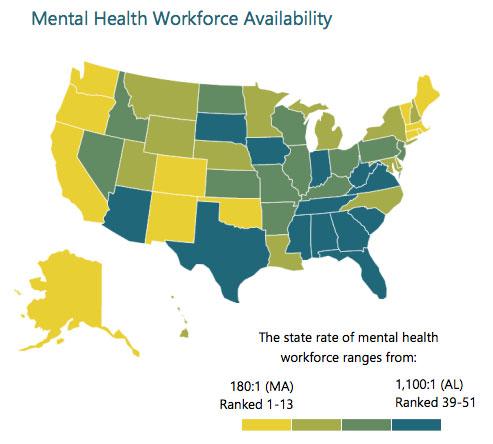 Maldistribution: Mental health care in America ...